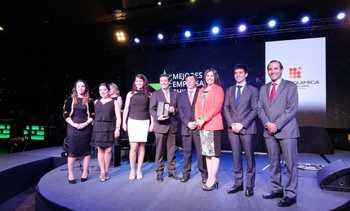 """Deloitte elige a Veterquimica como una de las """"Mejores Empresas Chilenas"""""""