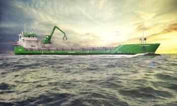 Bygger hybridskip med nullutslipp til havn