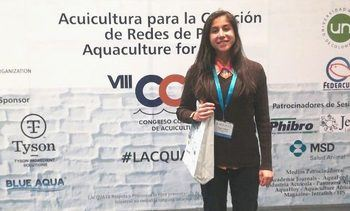 Lacqua 2018: Investigadora del Incar expone estudios del salmón