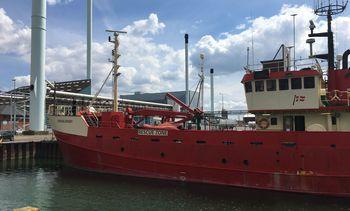Dansk forskningsskip i norsk farvann