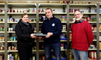Fish scales: salmon farmer weighs in to help foodbank