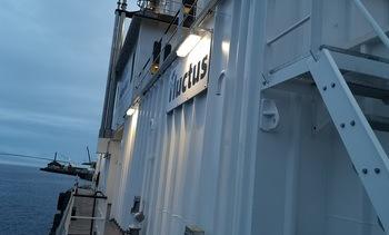 Bli med om bord den nye fôrflåten til Salmonor