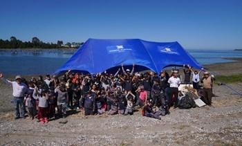 Los Lagos: Fiordo Austral realiza limpieza de playas