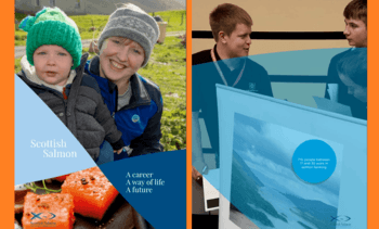 Salmon farming's young workforce in the spotlight