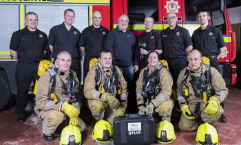Cooke helps firefighters achieve their vision