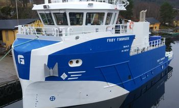 Ny Sletta båt overlevert - denne gang til Frøy Akvaressurs