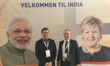 Presenterte grønne løsninger i India