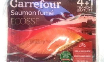 Scottish smoked salmon recalled by French stores