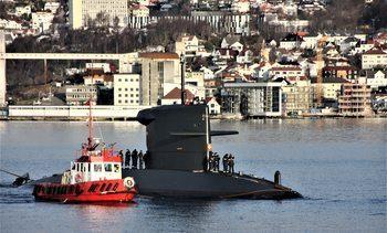 NATO øver ubåtkrig i Norge