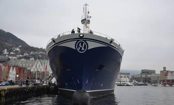 - Useriøst tøv at «Norwegian Gannet» fjerner 10.000 vogntog årlig fra veiene