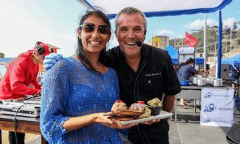 """Salmones Camanchaca organiza """"Cocina en Vivo"""" en Tomé"""