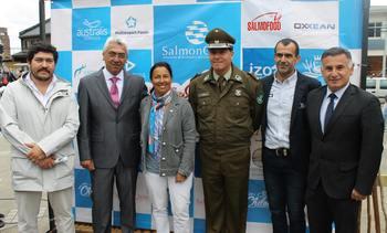 Salmonicultores se cuadran con Vuelta Ciclística de Chiloé