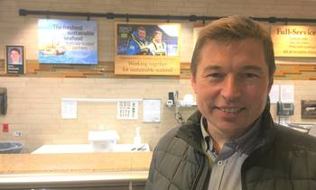 Organic farm smolts at sea in a year says new director