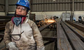 Women prove their mettle in AKVA welding workshop