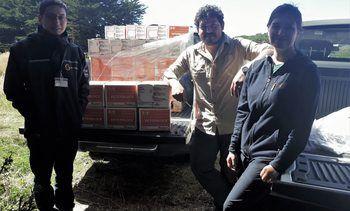 SalmonChile y Veterquímica apoyan a Ancud por incendios forestales