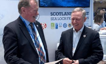 Scottish Salmon Company earns third BAP star