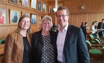 Optimismen tilbake, Team Norway full-booket