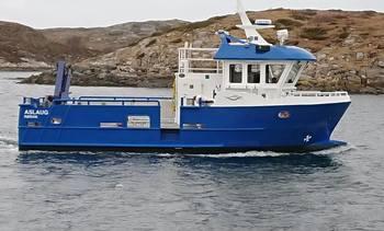 «Aslaug» på plass hos Emilsen Fisk