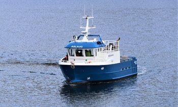 Første leveranse fra Moen Marin til Emilsen Fisk