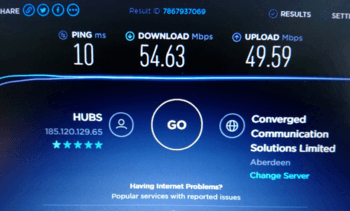 Mowi speeds Rum into the fibre internet age