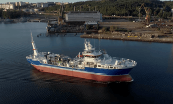 'Cutting-edge' wellboat makes a splash in BC