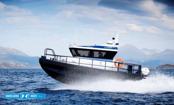 Ny båt fra Hukkelberg Boats til Lerøy