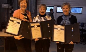 Maritime kvinner hedret