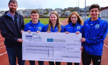 Cooke gives £20,000 to help islands athletes rock Gibraltar