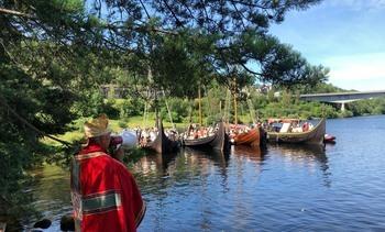 Vikingskip med Kvite Krist i Telemark