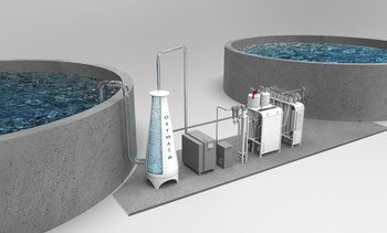 Sjekk ut Oxymats oksygengenerator «on site» på Aqua Nor