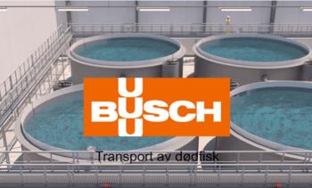 Transporterer dødfisk med vakuum