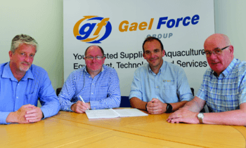 Gael Force signs £4m deal to equip organic salmon farms