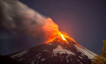 Chile: volcano rumblings put fish farmers on alert