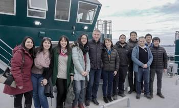 Cermaq Chile inaugura nuevo pontón para Aysén