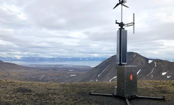 Denne styrker overvåkningen på Svalbard