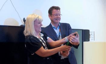Åpnet nytt nasjonalt senter for digital fiskediagnostikk i Harstad