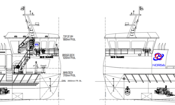 Denne båten skal snart slepes til Norge