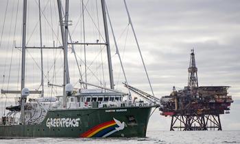 Greenpeace taus om nye aksjoner