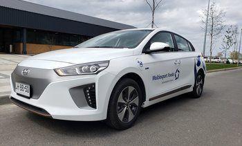Multiexport Foods  incorpora vehículo eléctrico a su flota