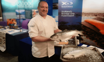 Success on a plate for chef in salmon recipe contest