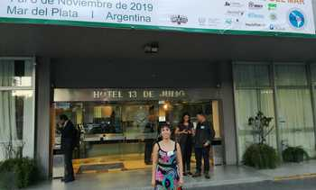 Investigadora del Incar expuso en Congreso Latinoamericano de Ciencias del Mar