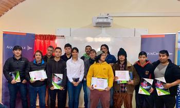 AquaChile realiza capacitación a comunidad  de Aysén