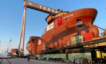 Ny brønnbåt sjøsatt