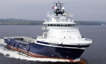 Ukens Skipsbesøk: MS «Island Crusader»