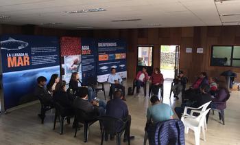 Iniciativa Social del Salmón realizó Casa Abierta en Guaitecas