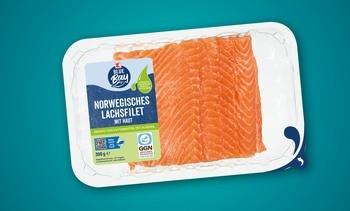 Supermercado alemán incorpora salmón alimentado con aceite de algas