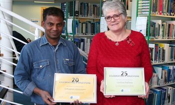 A top class 20 years for aquaculture trainer Saravanan