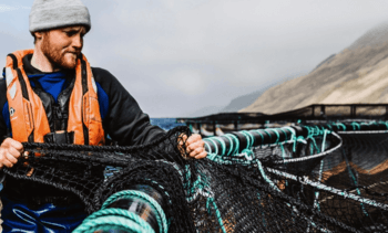 Salmon farming's open door closed by coronavirus