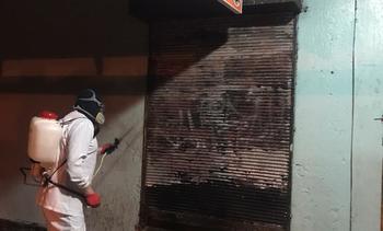 Salmonicultoras se unen para higienizar espacios públicos de Calbuco