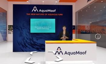 AquaMaof inaugura nuevo stand en feria virtual